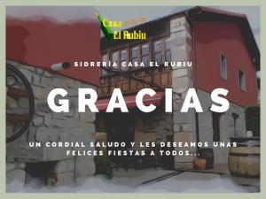 Comidas y Cenas Navidad 2018 @ Sidrería Casa el Rubiu